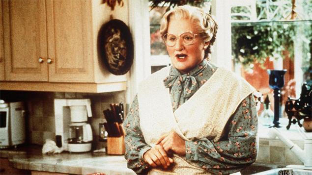 Robin Williams Movies Mrs. DoubtFire
