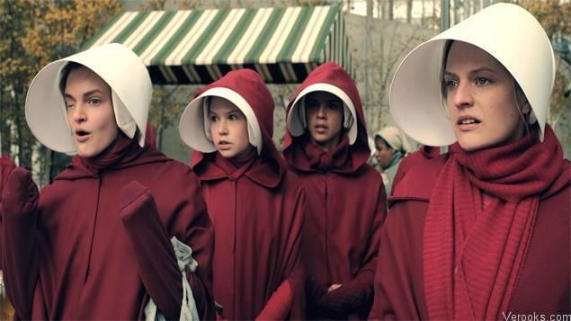 most popular tv series The Handmaid's Tale