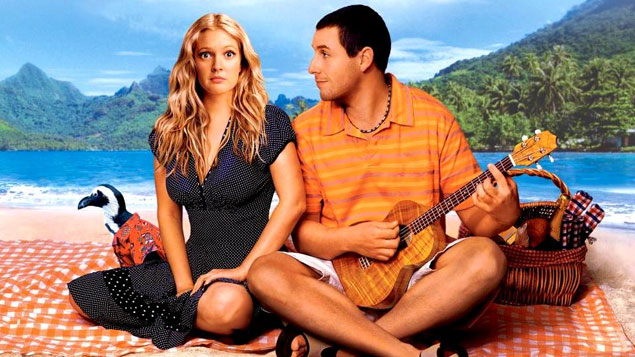 Adam Sandler Movie 50 First Dates