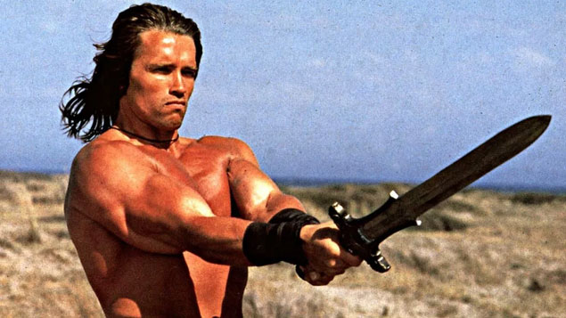 Arnold Schwarzenegger Movie Conan the Barbarian
