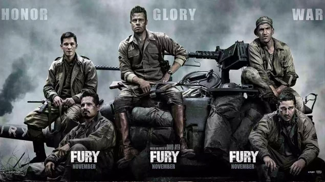 History Movie Fury