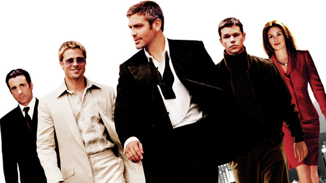 Brad Pitt Movie Ocean's Eleven/Twelve/Thirteen