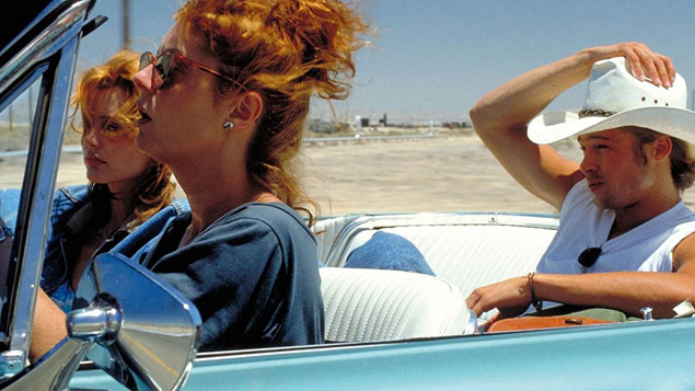 Brad Pitt Movie Thelma & Louise