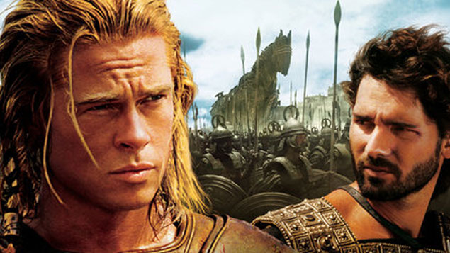 Brad Pitt Movie Troy