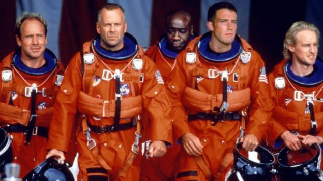 Bruce Willis Movie Armageddon
