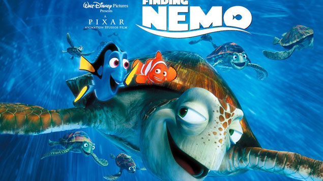 Kids Movie Finding Nemo