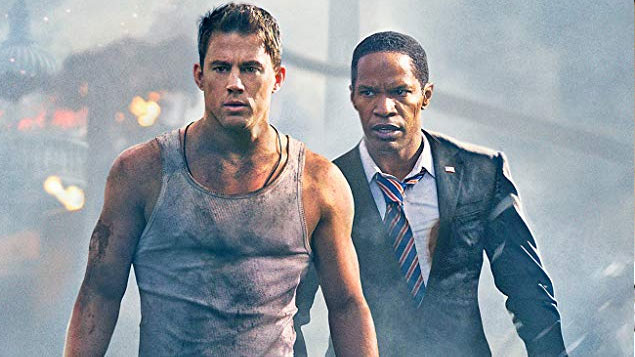 Jamie Foxx Movies White House Down