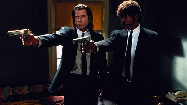 John Travolta Movie Pulp Fiction