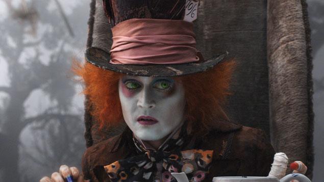 Johnny Depp Movie Alice in Wonderland