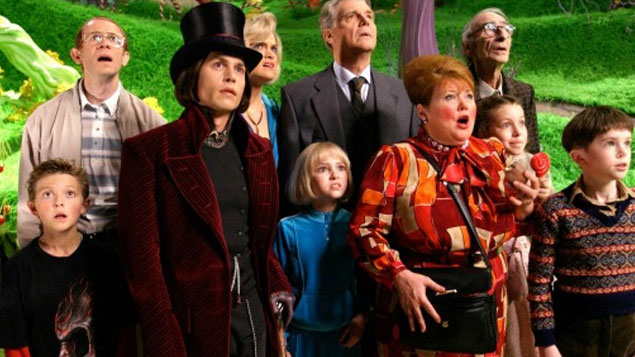 Johnny Depp Movie Charlie and the Chocolate Factory