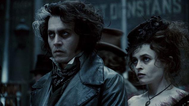 Johnny Depp Movie Sweeney Todd: The Demon Barber of Fleet Street