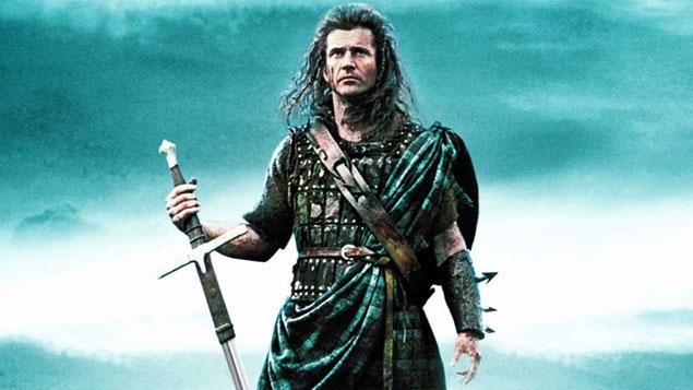 Mel Gibson Movie Braveheart