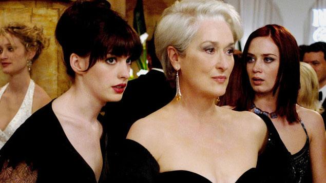 Meryl Streep Movie THE DEVIL WEARS PRADA