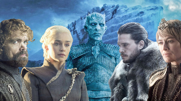 Top 50 TV Series Game of Thrones