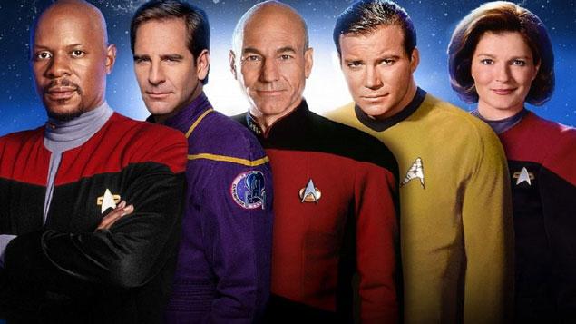 Top 50 TV Series Star Trek